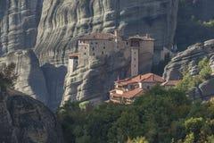 μοναστήρια meteora της Ελλάδα&sigma Στοκ Φωτογραφίες