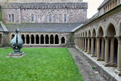 Μοναστήρι αβαείων της Iona Στοκ Φωτογραφία