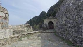 Μοναστήρι Αγίου Panteleimon, η κύρια εκκλησία, όρος Άθως, Ελλάδα φιλμ μικρού μήκους