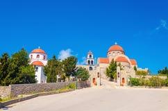 Μοναστήρι Αγίου Savva, Pothia, Kalymnos, Ελλάδα Στοκ Φωτογραφία