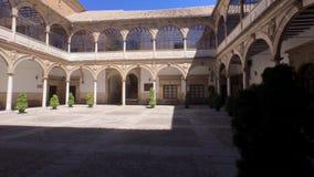 Μοναστήρι αναγέννησης, πόλη αναγέννησης, Baeza, Ανδαλουσία, Ισπανία απόθεμα βίντεο
