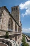 Μοναστήρι Βαρκελώνη του Μοντσερράτ Στοκ Φωτογραφίες