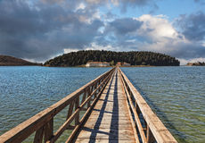 μοναστήρι γεφυρών της Αλβ Στοκ φωτογραφίες με δικαίωμα ελεύθερης χρήσης