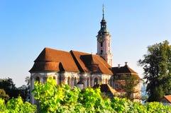 μοναστήρι εκκλησιών birnau Στοκ εικόνες με δικαίωμα ελεύθερης χρήσης