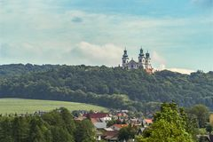 Μοναστήρι ερημιτών Camaldolese στην Κρακοβία Στοκ φωτογραφία με δικαίωμα ελεύθερης χρήσης