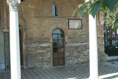 Μοναστήρι Θεσσαλονίκη Vlatadon Στοκ Εικόνες