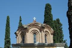 Μοναστήρι Θεσσαλονίκη Vlatadon Στοκ Εικόνα