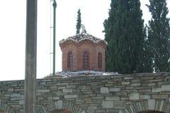 Μοναστήρι Θεσσαλονίκη Vlatadon Στοκ φωτογραφία με δικαίωμα ελεύθερης χρήσης