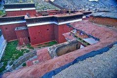 μοναστήρι Θιβετιανός προ&al στοκ φωτογραφία με δικαίωμα ελεύθερης χρήσης