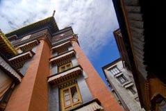 μοναστήρι Θιβετιανός στοκ εικόνα