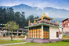 μοναστήρι Θιβετιανός στοκ εικόνες με δικαίωμα ελεύθερης χρήσης