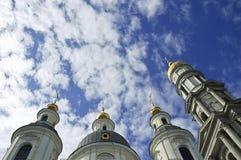 μοναστήρι ορθόδοξο Στοκ Εικόνα