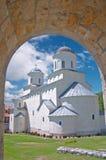 μοναστήρι ορθόδοξο Στοκ Εικόνες