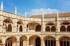 μοναστήρι Πορτογαλία της Λισσαβώνας jeronimos Στοκ Εικόνα