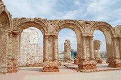 μοναστήρι προαυλίων στοκ εικόνες