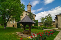 μοναστήρι Ρουμανία dragomirna Στοκ Εικόνες