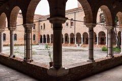 Μοναστήρι σε μια μονή Στοκ Φωτογραφία