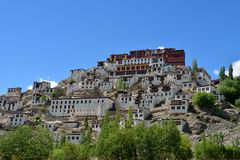 Μοναστήρι σε Ladakh, Ινδία Στοκ φωτογραφίες με δικαίωμα ελεύθερης χρήσης