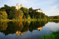 Μοναστήρι σε Tyniec κοντά σε Crakow στοκ φωτογραφίες με δικαίωμα ελεύθερης χρήσης