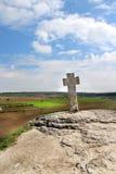 Μοναστήρι σπηλιών στη Μολδαβία, Orheiul Vechi Στοκ εικόνες με δικαίωμα ελεύθερης χρήσης