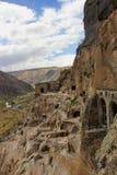Μοναστήρι σπηλιών Vardzia, Γεωργία Στοκ εικόνες με δικαίωμα ελεύθερης χρήσης
