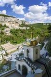 Μοναστήρι στα βουνά Στοκ Εικόνα