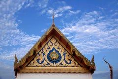 Μοναστήρι στη Μπανγκόκ, φτωχογειτονιές της Ταϊλάνδης Στοκ Εικόνα