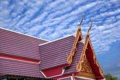 Μοναστήρι στη Μπανγκόκ, φτωχογειτονιές της Ταϊλάνδης Στοκ φωτογραφίες με δικαίωμα ελεύθερης χρήσης