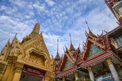 Μοναστήρι στη Μπανγκόκ, φτωχογειτονιές της Ταϊλάνδης Στοκ Εικόνες