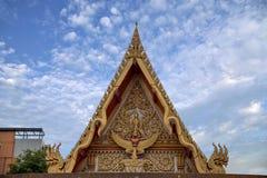 Μοναστήρι στη Μπανγκόκ, φτωχογειτονιές της Ταϊλάνδης Στοκ φωτογραφία με δικαίωμα ελεύθερης χρήσης