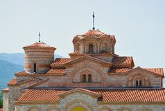 Μοναστήρι στη Οχρίδα Στοκ φωτογραφίες με δικαίωμα ελεύθερης χρήσης