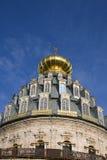 Μοναστήρι στη Ρωσία νέα Ιερουσαλήμ, θόλος καθεδρικών ναών Στοκ Εικόνες