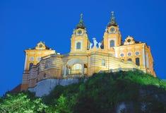 μοναστήρι της Αυστρίας melk Στοκ Εικόνες