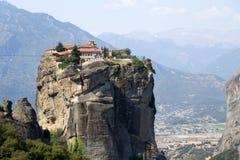 Μοναστήρι της ιερής τριάδας, Meteora Στοκ Εικόνες