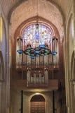 Μοναστήρι της Ισπανίας Poblet, στην Καταλωνία Στοκ εικόνες με δικαίωμα ελεύθερης χρήσης