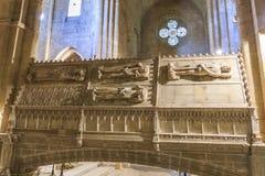Μοναστήρι της Ισπανίας Poblet, στην Καταλωνία Στοκ φωτογραφία με δικαίωμα ελεύθερης χρήσης