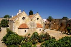 μοναστήρι της Κρήτης Ελλά&del Στοκ εικόνα με δικαίωμα ελεύθερης χρήσης