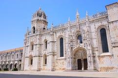 μοναστήρι της Λισσαβώνας jeronimos Στοκ φωτογραφία με δικαίωμα ελεύθερης χρήσης