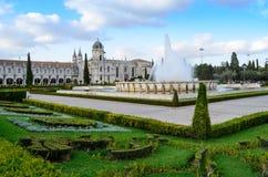 μοναστήρι της Λισσαβώνας jeronimos Στοκ Εικόνες