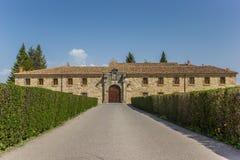 Μοναστήρι της Σάντα Κλάρα Aguilar de Campoo στοκ φωτογραφίες