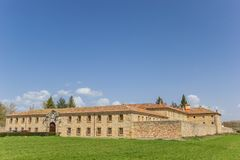 Μοναστήρι της Σάντα Κλάρα Aguilar de Campoo στοκ εικόνα