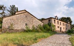 Μοναστήρι του Άγιου Νικολάου Philanthropinon σε Nissaki, Ιωάννινα, Ελλάδα Στοκ εικόνες με δικαίωμα ελεύθερης χρήσης