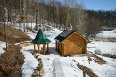 Μοναστήρι του Αλεξάνδρου Nevsky στην Τσουβασία, Ρωσία Στοκ εικόνα με δικαίωμα ελεύθερης χρήσης