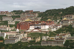 Μοναστήρι του Θιβέτ Στοκ εικόνες με δικαίωμα ελεύθερης χρήσης