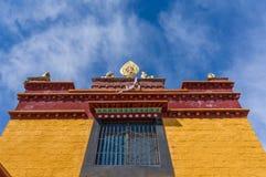 Μοναστήρι του Θιβέτ στοκ εικόνες
