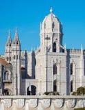 Μοναστήρι του θόλου Jeronimos, Λισσαβώνα, Πορτογαλία στοκ φωτογραφίες με δικαίωμα ελεύθερης χρήσης