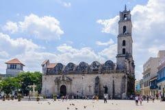 Μοναστήρι του Σαν Φρανσίσκο στο Λα Habana Vieja, Κούβα Στοκ Εικόνες
