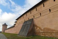 Μοναστήρι του ST Euthymius τοίχων στο Σούζνταλ, που ιδρύεται σε 1350 Χρυσό δαχτυλίδι του ταξιδιού της Ρωσίας Στοκ Εικόνες