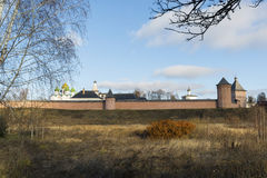 Μοναστήρι του ST Euthymius τοίχων στο Σούζνταλ, που ιδρύεται στοκ φωτογραφία με δικαίωμα ελεύθερης χρήσης