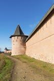 Μοναστήρι του ST Euthymius τοίχων στο Σούζνταλ, που ιδρύεται Στοκ Εικόνα